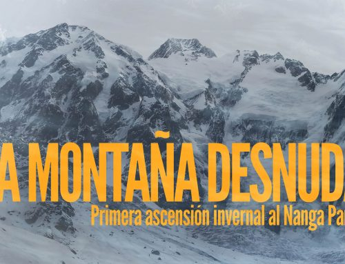 """""""La Montaña desnuda"""", el nuevo proyecto de Alex Txikon"""