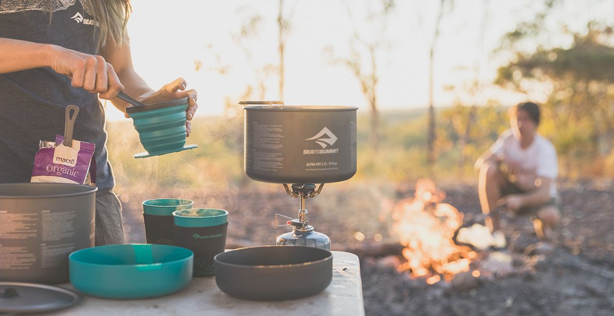 Sistemas de cocina para camping Sea to Summit