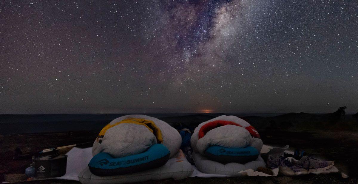 Sea to summit sacos de dormir según el clima donde viajas