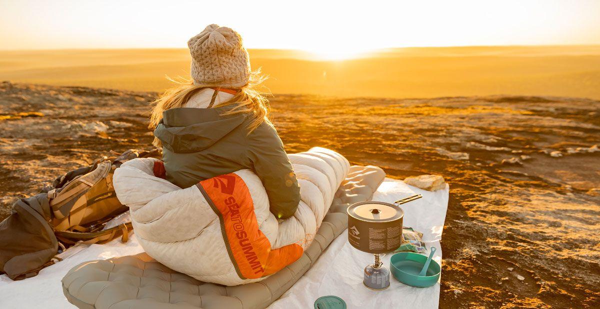 Sea to summit sacos de dormir para mujeres